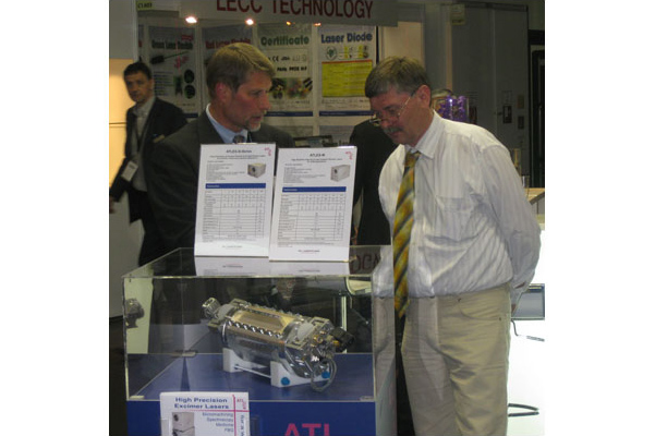 LASER, World of Photonics Exhibition, Munich, 2011 ...ATL continuously brings new innovations to the market.